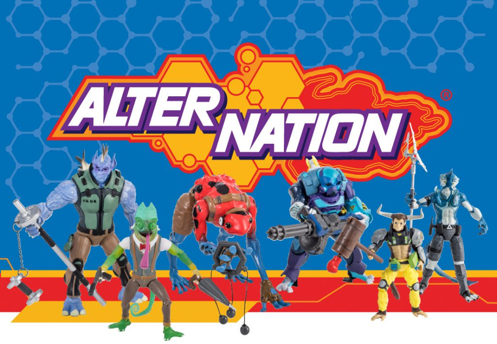 Alter Nation Toys Branding
