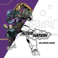 Alter Nation Coloring Book