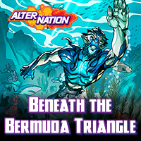 Beneath the Bermuda Triangle free short story for readers Ages 8 and up